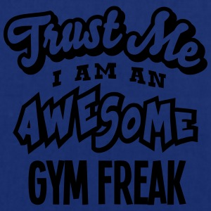 gym freak trust me i am an awesome - Tote Bag