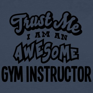 gym instructor trust me i am an awesome - T-shirt manches longues Premium Homme