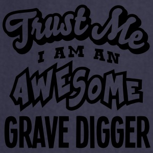 grave digger trust me i am an awesome - Cooking Apron
