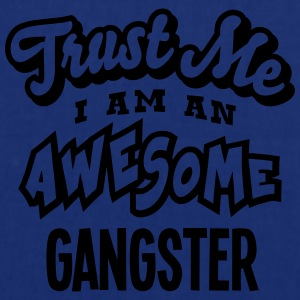 gangster trust me i am an awesome - Tote Bag