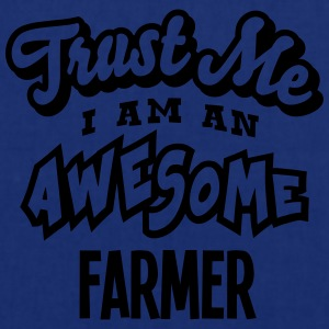farmer trust me i am an awesome - Tote Bag