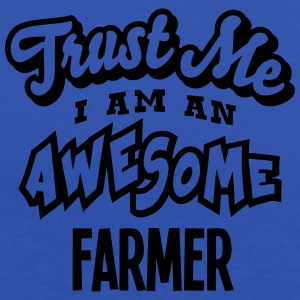 farmer trust me i am an awesome - Women's Tank Top by Bella
