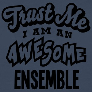 ensemble trust me i am an awesome - T-shirt manches longues Premium Homme