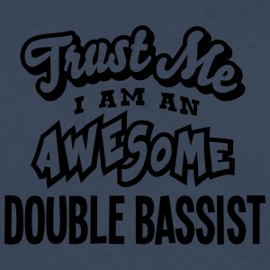 double bassist trust me i am an awesome - T-shirt manches longues Premium Homme