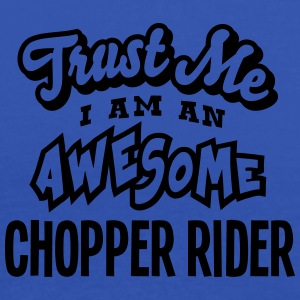 chopper rider trust me i am an awesome - Débardeur Femme marque Bella