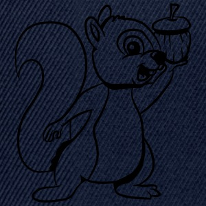 Squirrel feeding joy T-Shirts - Snapback Cap