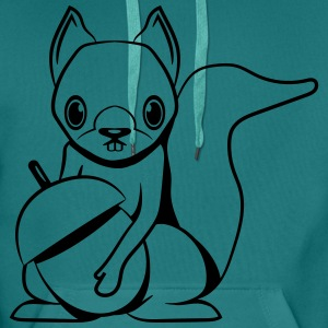 squirrel T-Shirts - Men's Premium Hoodie