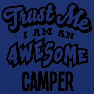 camper trust me i am an awesome - Tote Bag