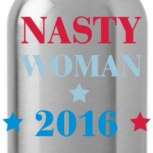 Nasty woman 2016 stars T-Shirts - Water Bottle
