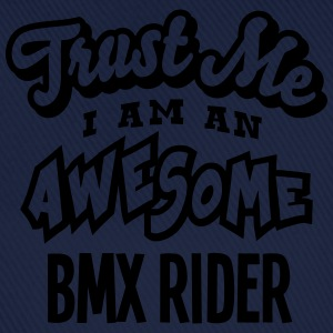 bmx rider trust me i am an awesome - Casquette classique