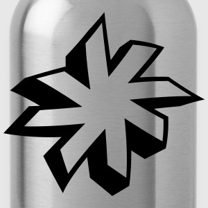 minimalist star 3D Other - Water Bottle