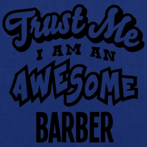 barber trust me i am an awesome - Tote Bag