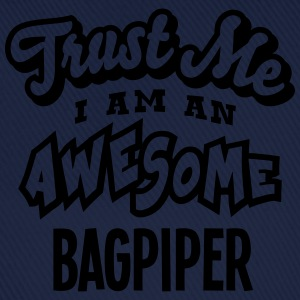 bagpiper trust me i am an awesome - Baseball Cap