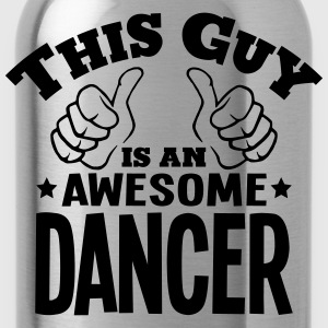 this guy is an awesome dancer - Water Bottle