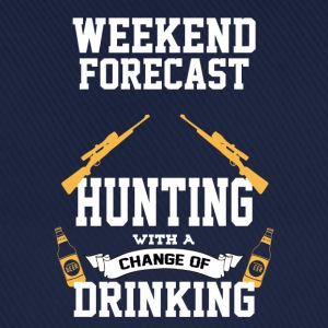 Hunting With A Chance Of Drinking T-Shirts - Baseball Cap