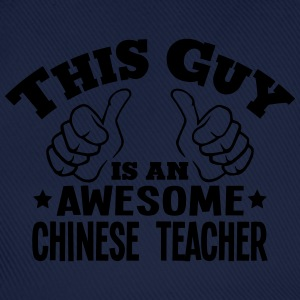 this guy is an awesome chinese teacher - Baseball Cap