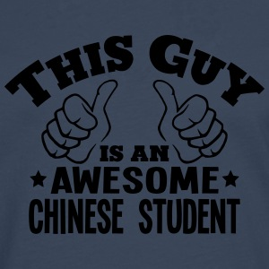 this guy is an awesome chinese student - Men's Premium Longsleeve Shirt