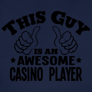 this guy is an awesome casino player - Baseball Cap