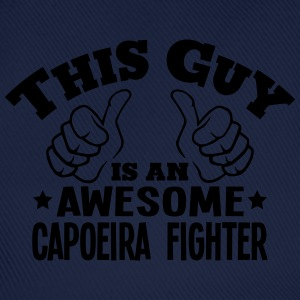 this guy is an awesome capoeira fighter - Baseball Cap