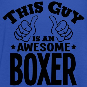 this guy is an awesome boxer - Women's Tank Top by Bella