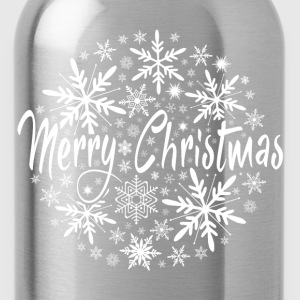 Merry Christmas T-Shirts - Trinkflasche