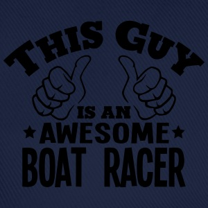 this guy is an awesome boat racer - Baseball Cap