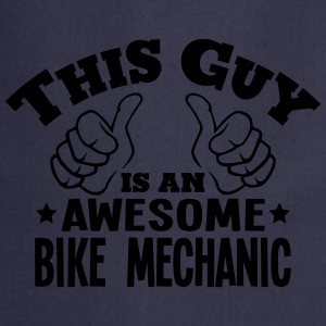 this guy is an awesome bike mechanic - Cooking Apron