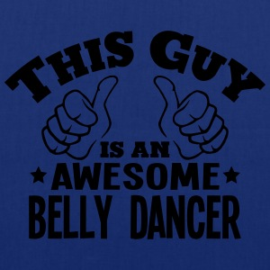 this guy is an awesome belly dancer - Tote Bag