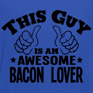 this guy is an awesome bacon lover - Women's Tank Top by Bella