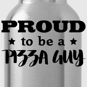 pizza guy proud to be - Water Bottle