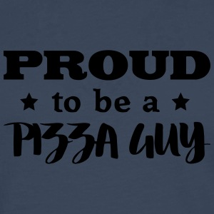 pizza guy proud to be - Men's Premium Longsleeve Shirt