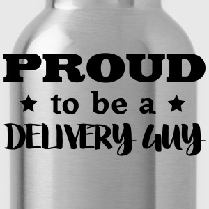 delivery guy proud to be - Water Bottle