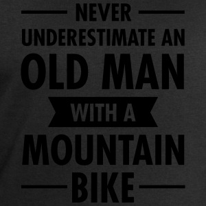 Old Man - Mountain Bike T-Shirts - Men's Sweatshirt by Stanley & Stella