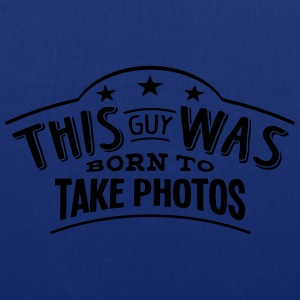 this guy was born to take photos - Tote Bag