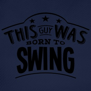this guy was born to swing - Casquette classique