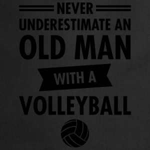 Old Man - Volleyball Magliette - Grembiule da cucina