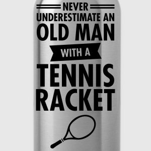 Old Man - Tennis T-Shirts - Trinkflasche
