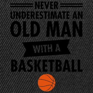 Old Man - Basketball Magliette - Snapback Cap