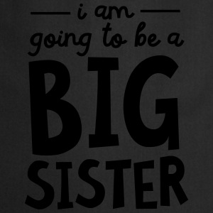 I Am going To Be A Big Sister T-shirts - Keukenschort