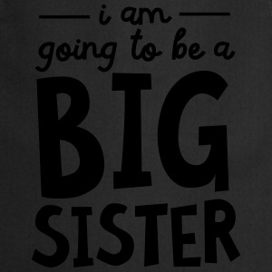 I Am going To Be A Big Sister T-shirts - Forklæde