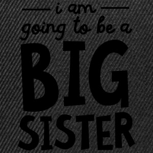 I Am going To Be A Big Sister Camisetas - Gorra Snapback