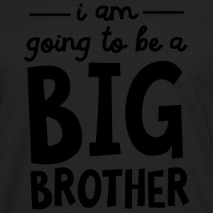 I Am Going To Be A Big Brother T-Shirts - Männer Premium Langarmshirt