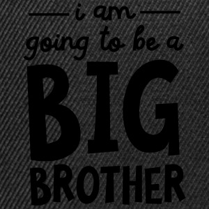 I Am Going To Be A Big Brother T-Shirts - Snapback Cap
