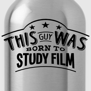 this guy was born to study film - Water Bottle