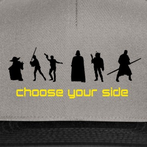 Choose your Side - Snapback Cap