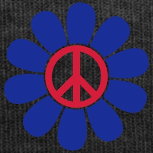 Peace Blume Flower Power Peace Symbol Zeichen T-Shirts - Wintermütze