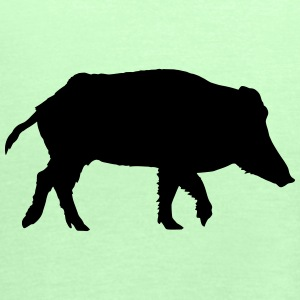 Wild boar T-Shirts - Women's Tank Top by Bella