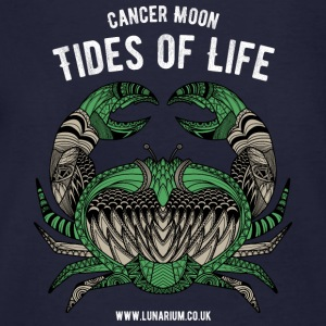 Cancer Moon Unisex Hoodie - Men's Organic T-shirt