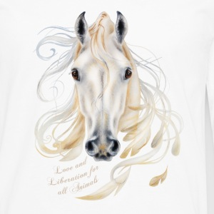 Love and Liberation for all Animals - Mannen Premium shirt met lange mouwen