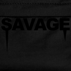 Savage T-Shirts - Kids' Backpack